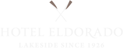 Hotel Eldorado logo. Web development project by local Kelowna design and marketing agency, Csek Creative.