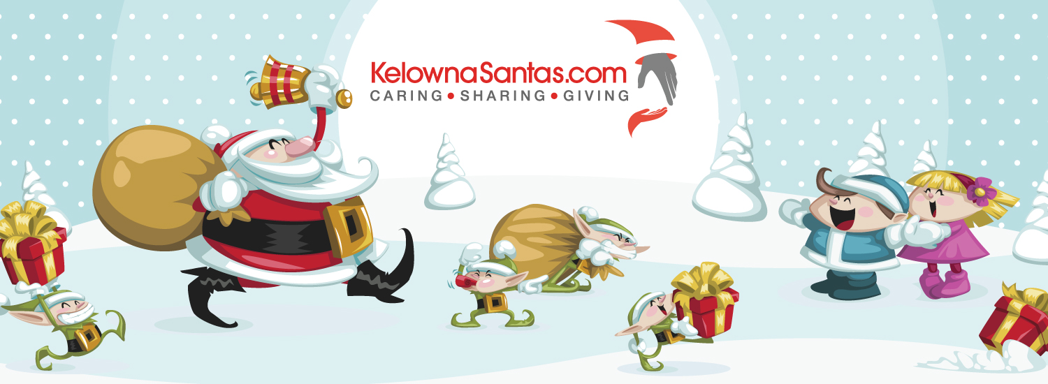 help local families in need with kelowna santas