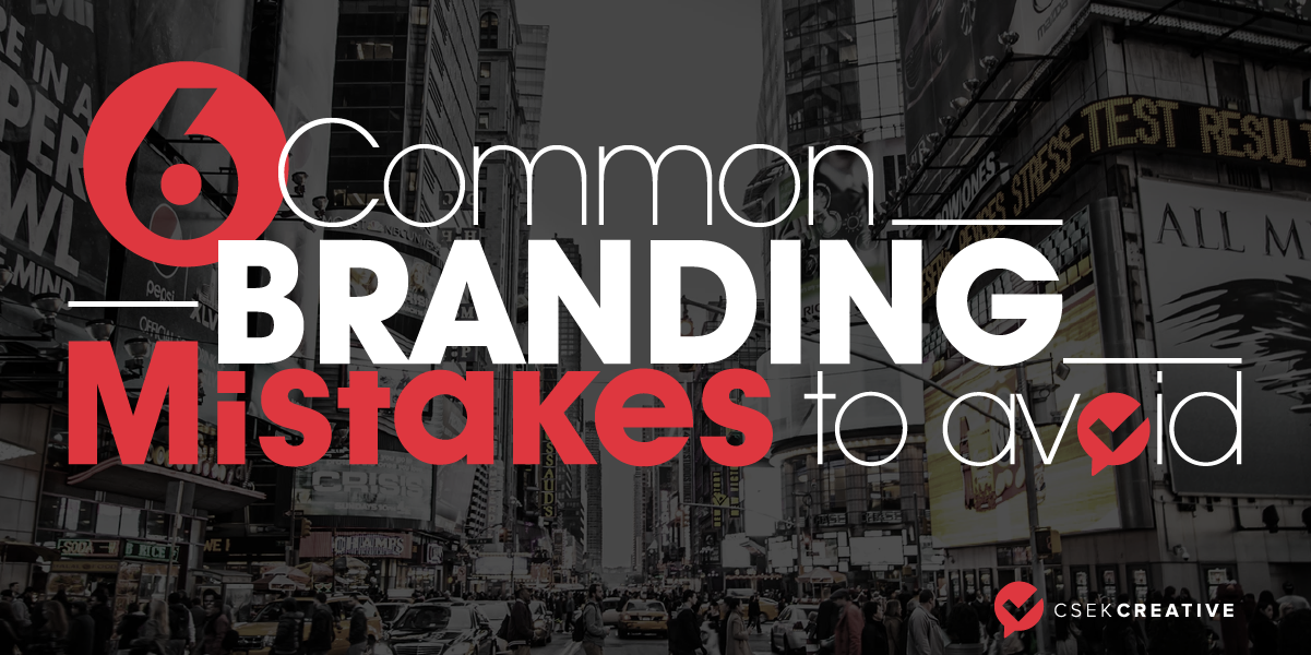 [INFOGRAPHIC] Common branding mistakes to avoid