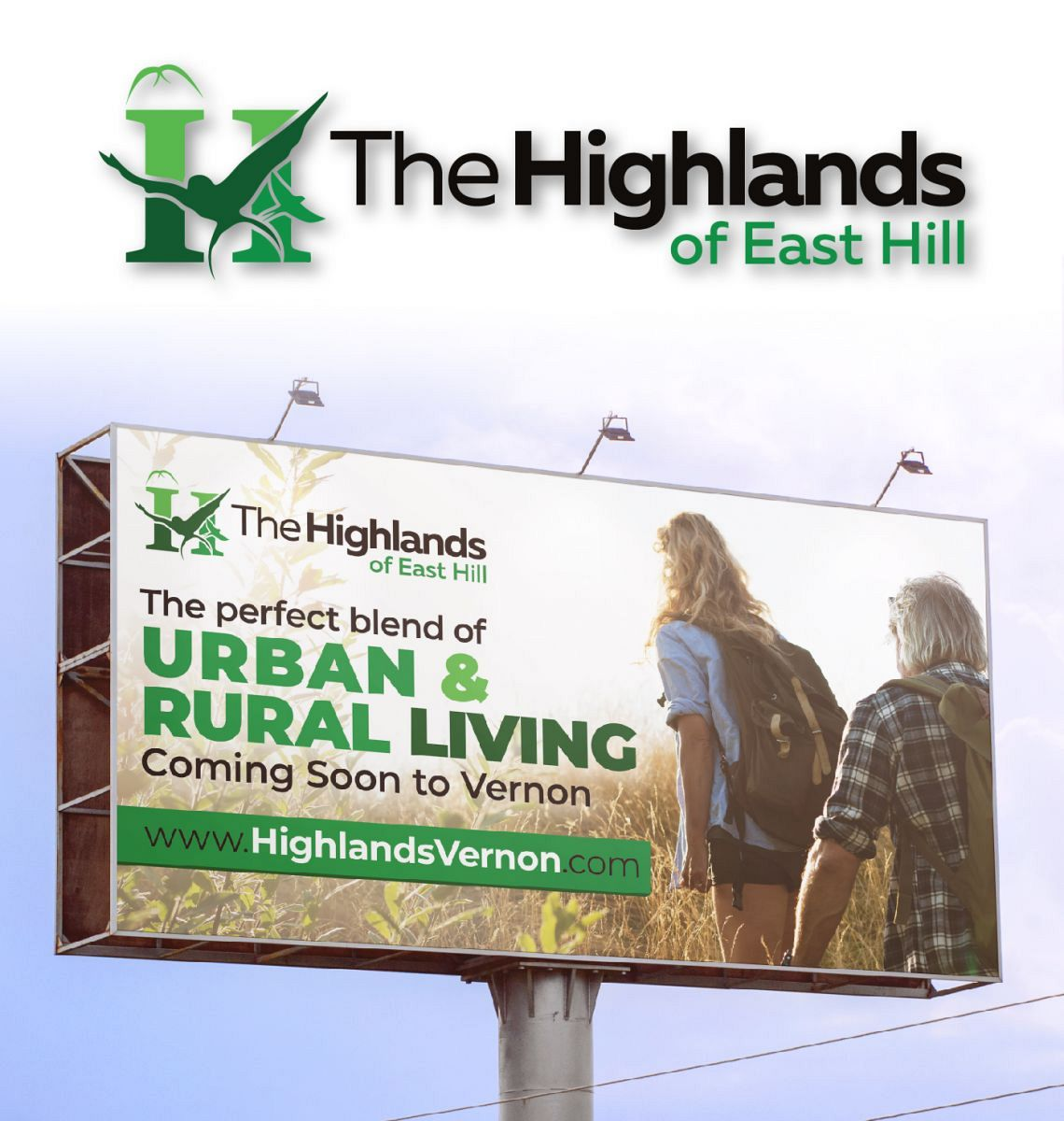 Highlands of East Hill Branding and Billboard