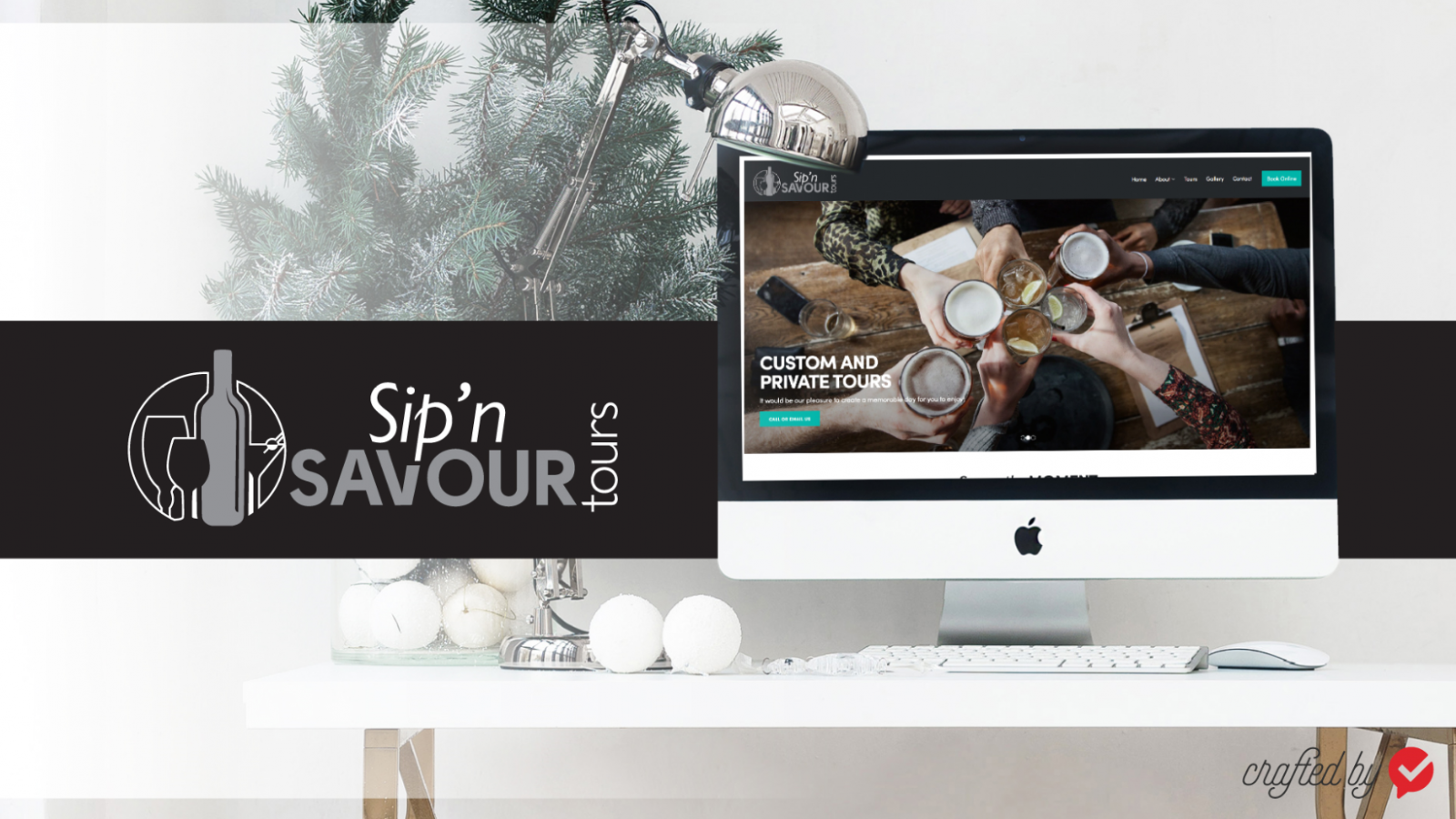 Sip Savour Tours Website