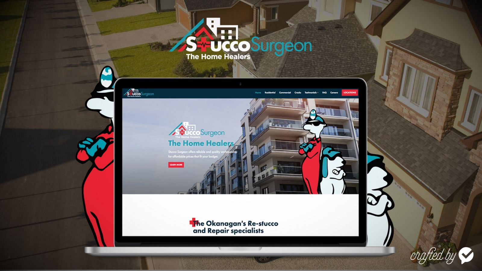 Stucco website redesign