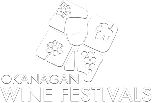 Okanagan Wine Festival Society logo. Web development project by local Kelowna design and marketing agency, Csek Creative.
